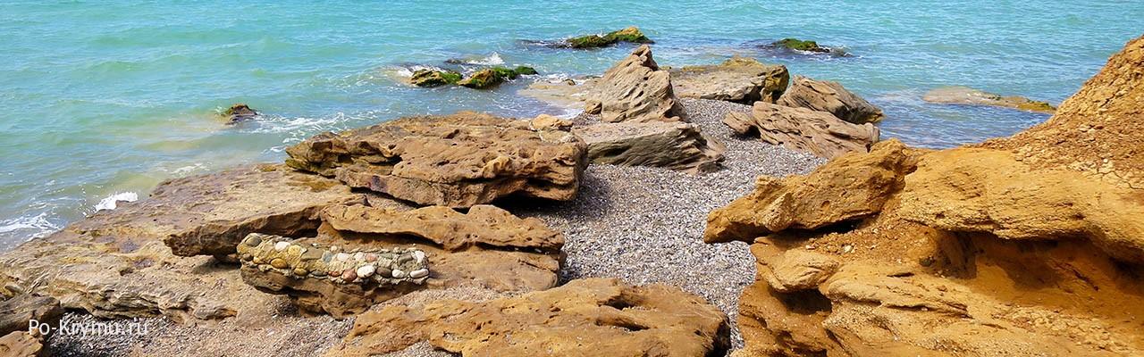 Море в Береговке Бахчисарайского района