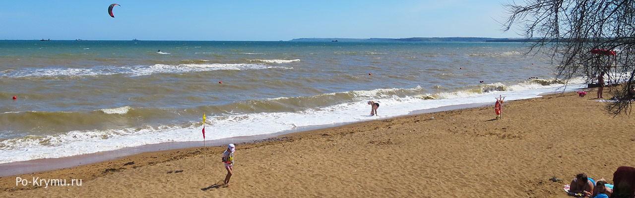 Лучшие песчаные пляжи Крыма в Керченском проливе