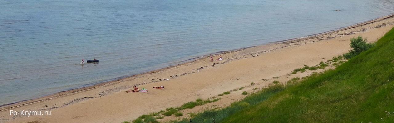 Песчаный берег Семеновки, Азовское море