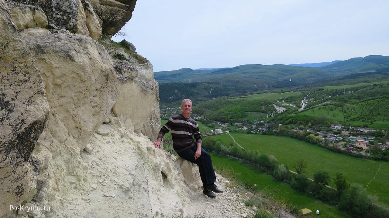 Вид на Качинскую долину.