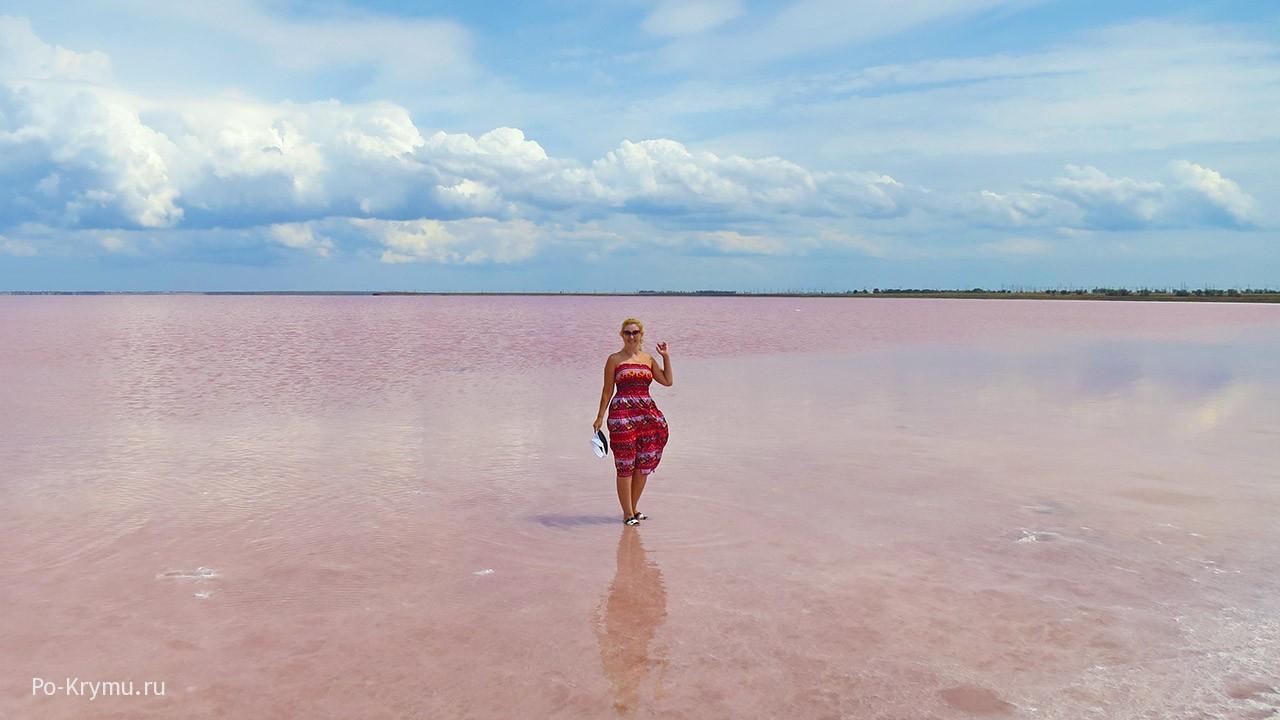 Розовое и голубое, оттенки крымского лета
