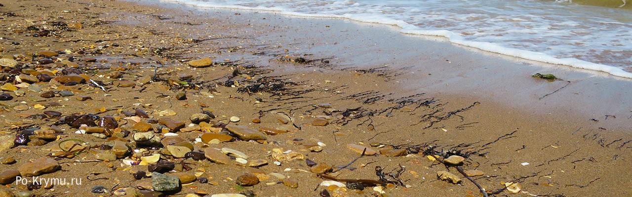 Где находится песчаные пляжи на Керченском полуострове