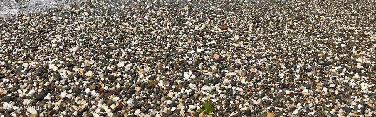 Труднодоступный пляж Шайтан у Балаклавы