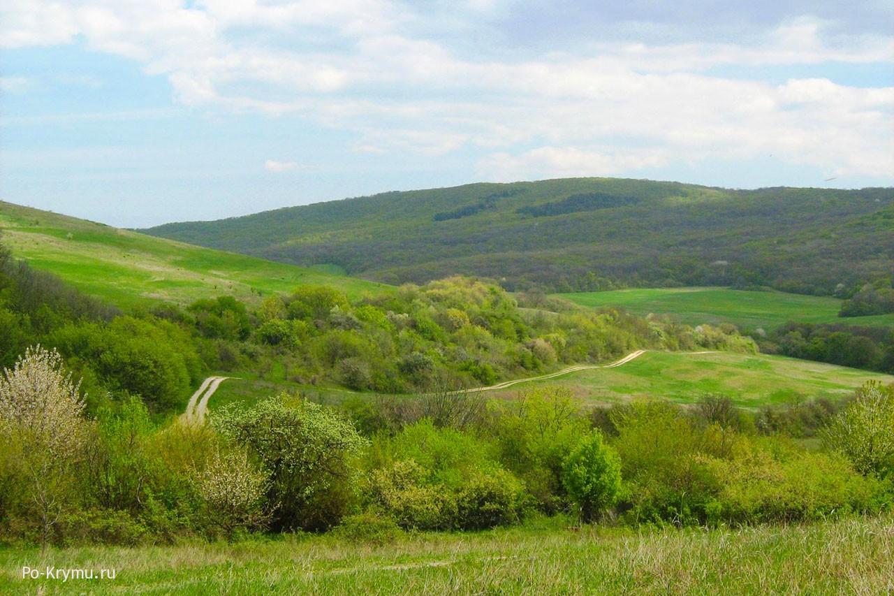 Весенний Крым.