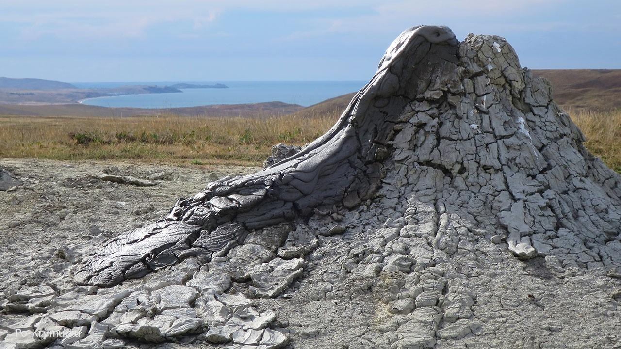 Булганакские грязевые вулканы, Крым