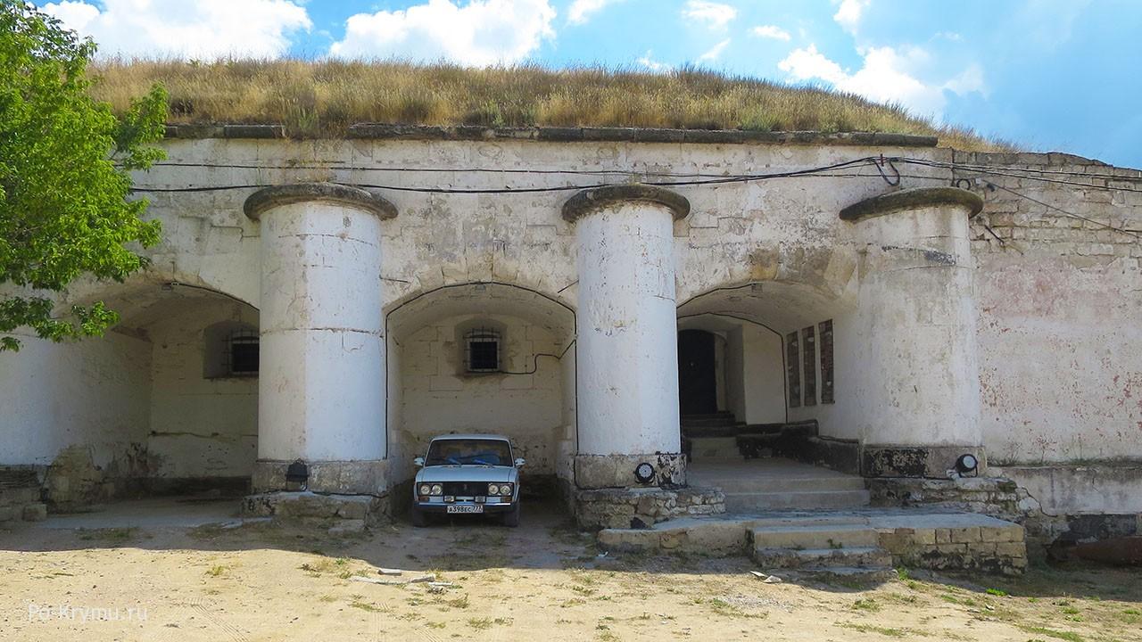 Керчь, Керченская крепость, начало экскурсии.