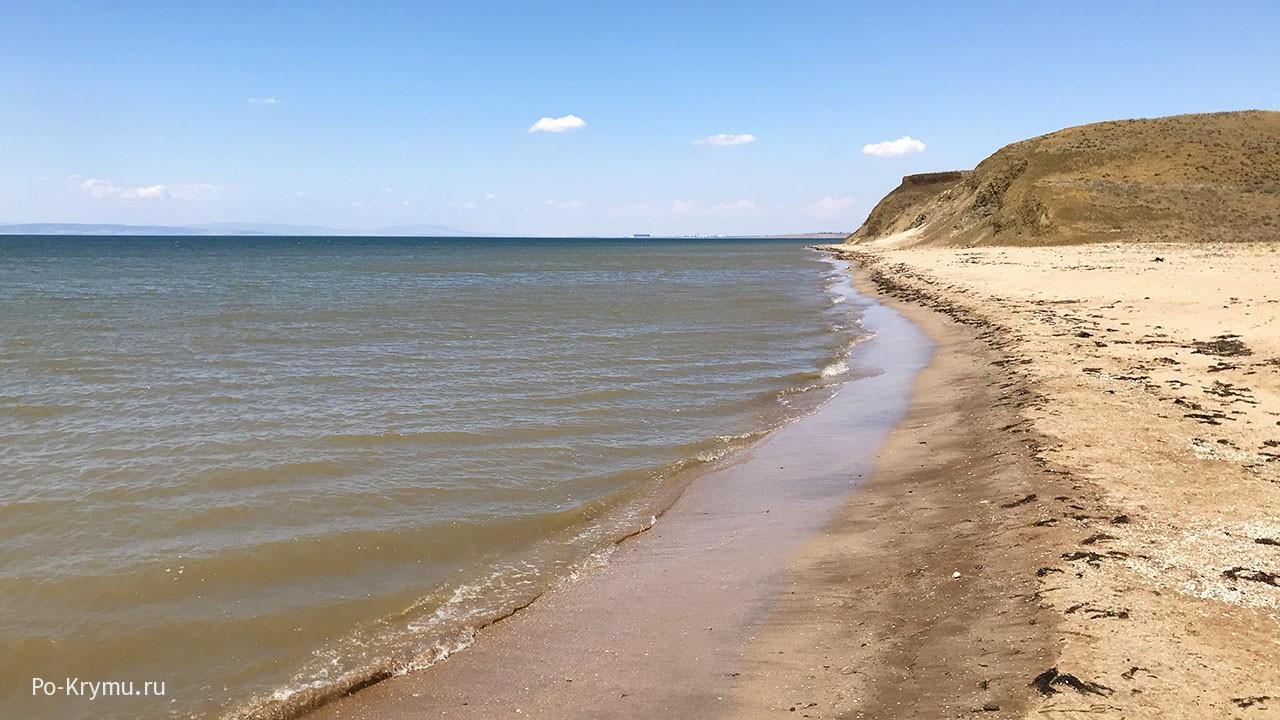 Феодосийский залив, дикий пляж.