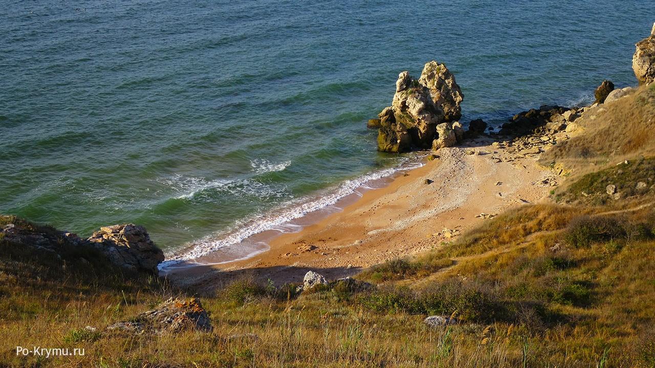 Генеральские пляжи - хорошее место для нудистов