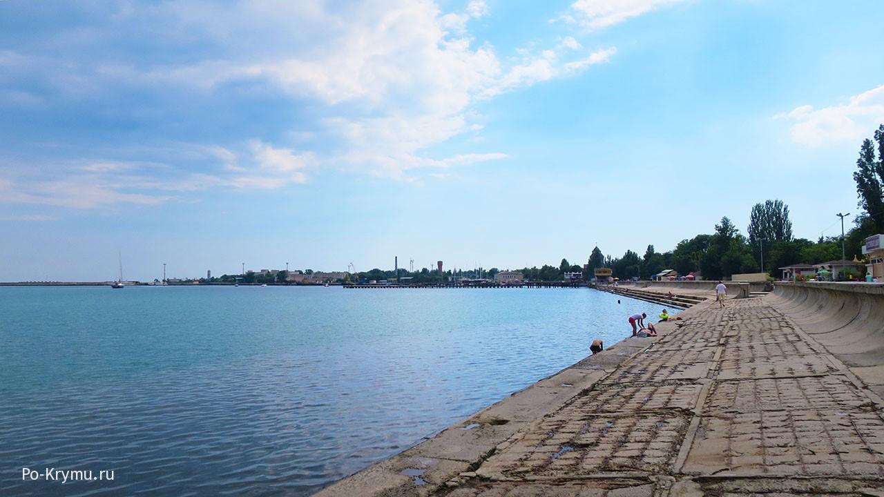 Евпаторийский пляж.