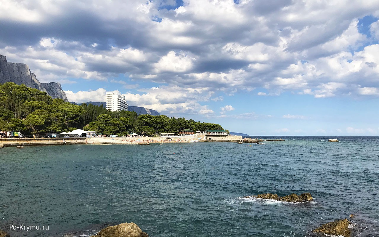 Пляжи Южного Крыма.