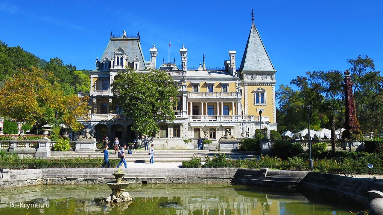 Красивые дворцы Крыма