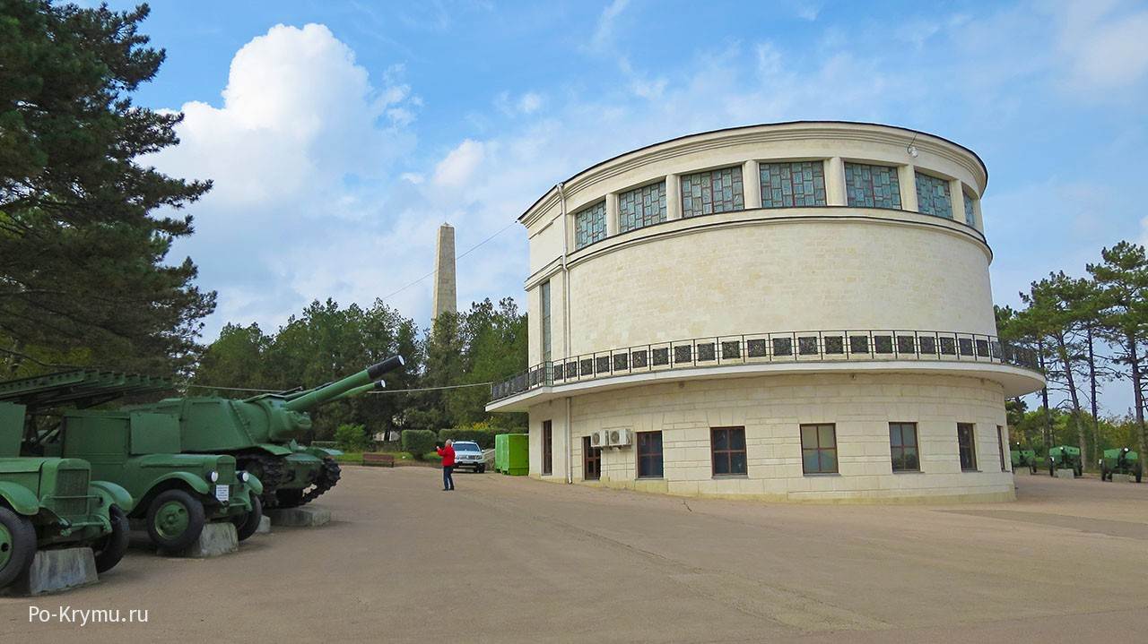 Диорама на Сапун горе в Севастополе.