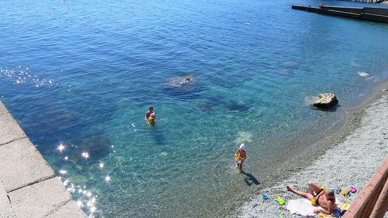 Морские купания с детьми.