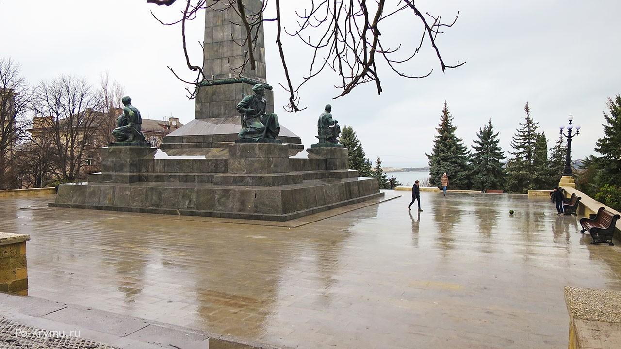 Памятники города Севастополь