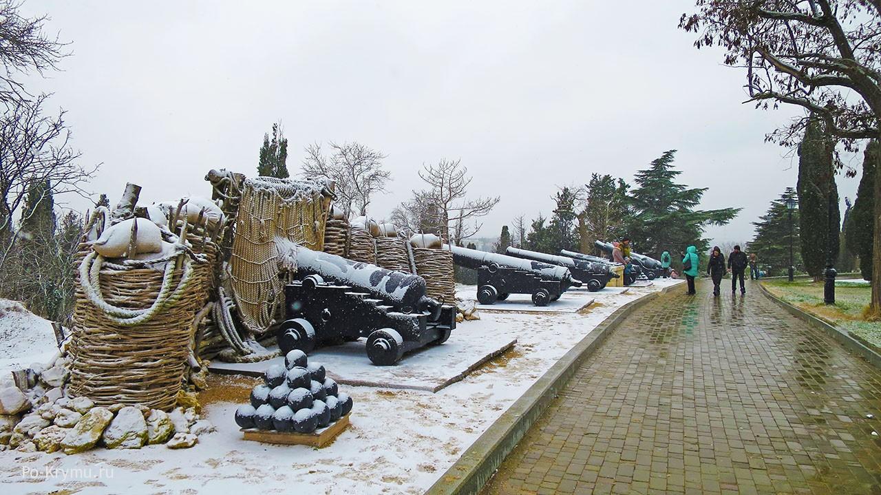 Малахов курган - место героической обороны Севастополя