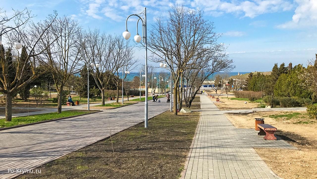 Фото парков и скверов Севастополя