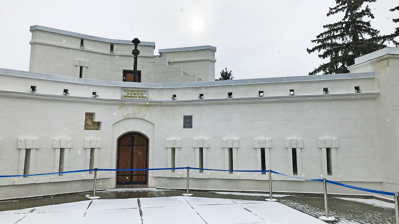 Корниловский бастион на Малаховом кургане - оборонительная башня.