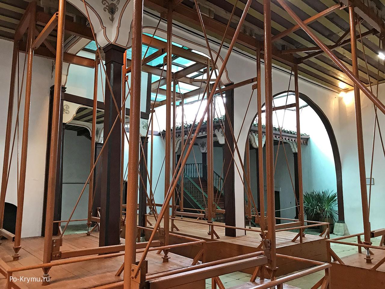 Фото реконструкции Бахчисарайского дворца