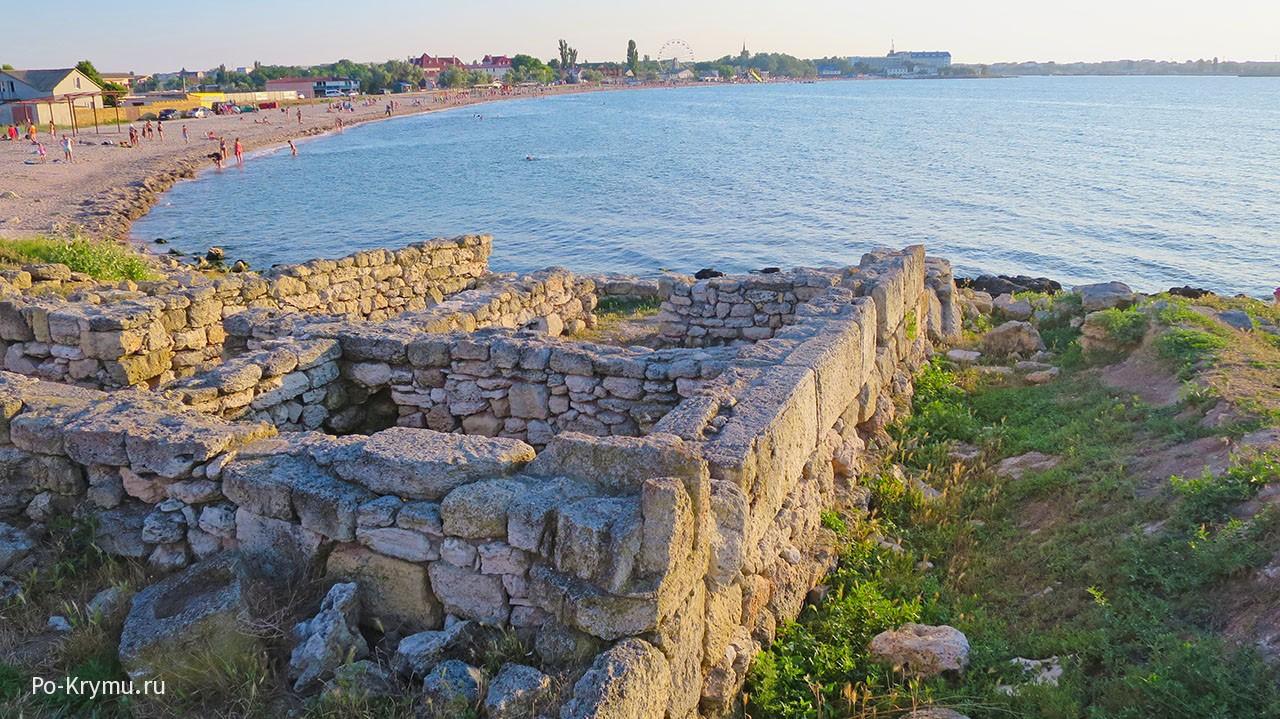 Калос-Лимен. пос. Черноморское.