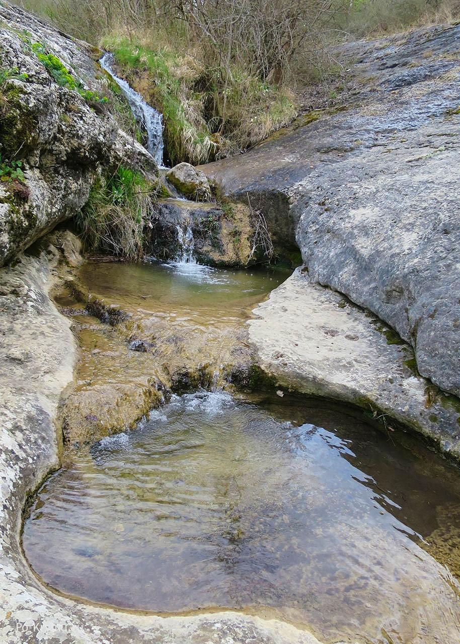 Каскад на реке Уппа.