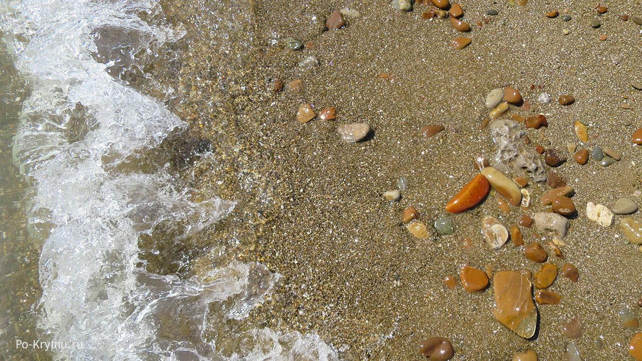 Лучший песчаный пляж Восточного Крыма.