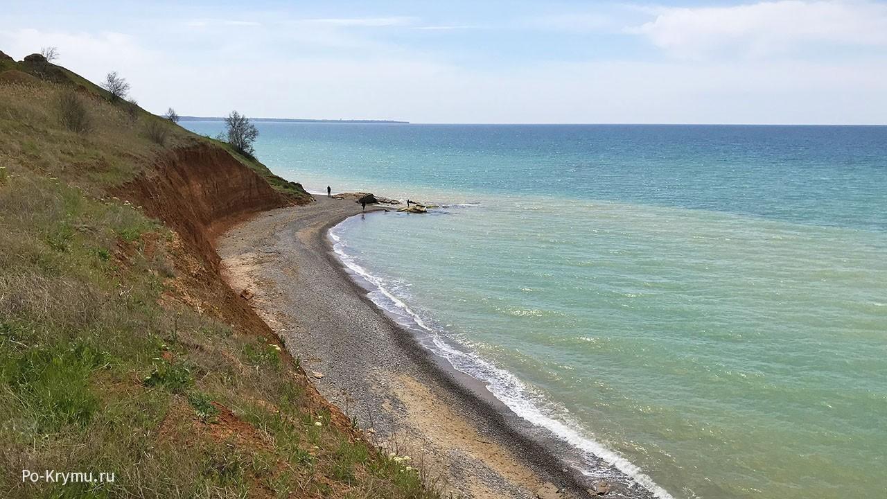 Нудистские пляжи на западе Крымского полуострова