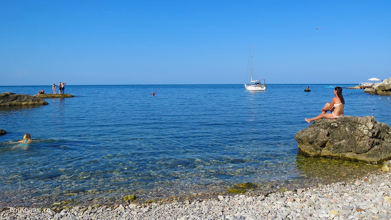 Утро на море, Крым.