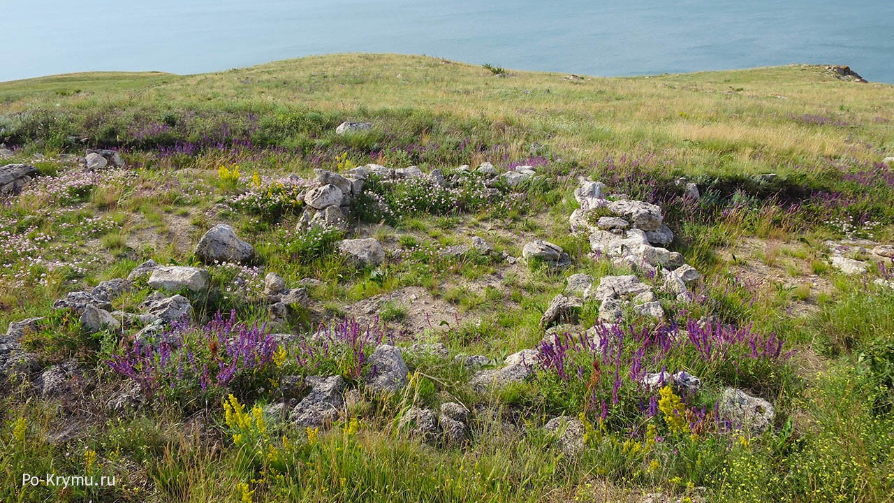 Караларская степь на Керченском полуострове.