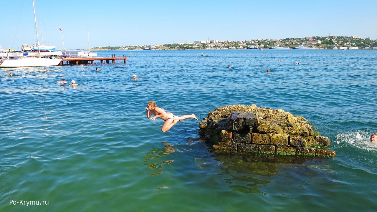 Севастополь, лето, море.