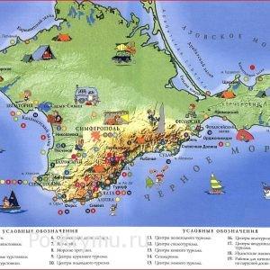 Лучшие места на карте Крыма для отдыха дикарями