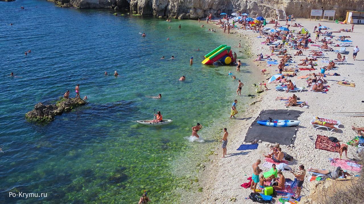 Где в Крыму теплая вода.