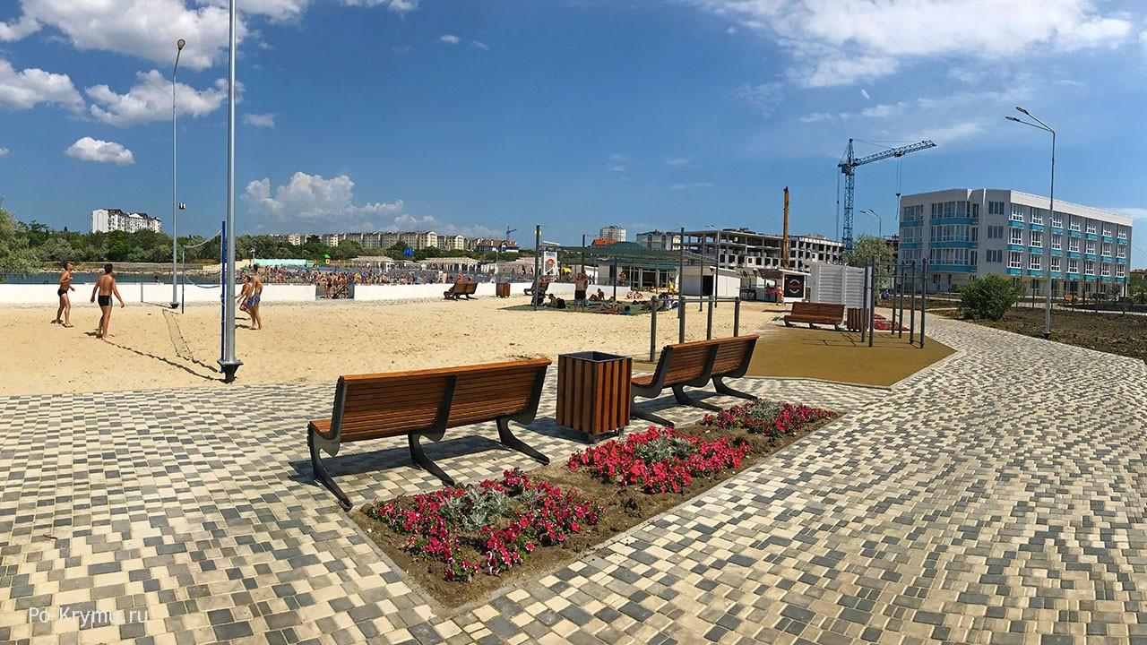 Как изменился Солдатский пляж в Гагаринском районе.