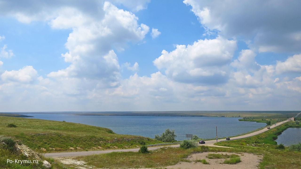 Озеро Донузлав, Аблямитский мост