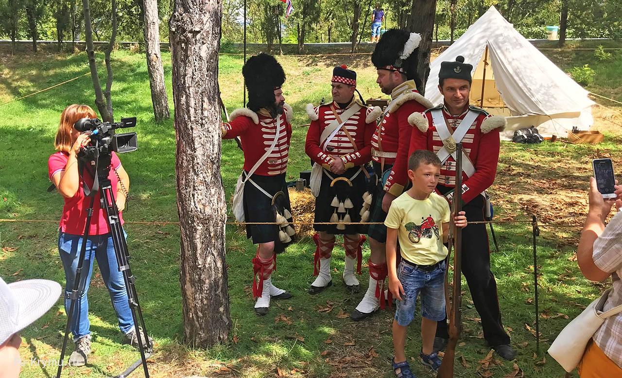 Фото участников Крымского военно-исторического фестиваля