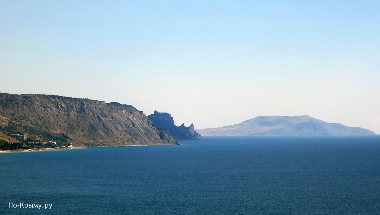 Гора Караул-Оба у Нового Света