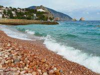 Пляжи Гурзуфа