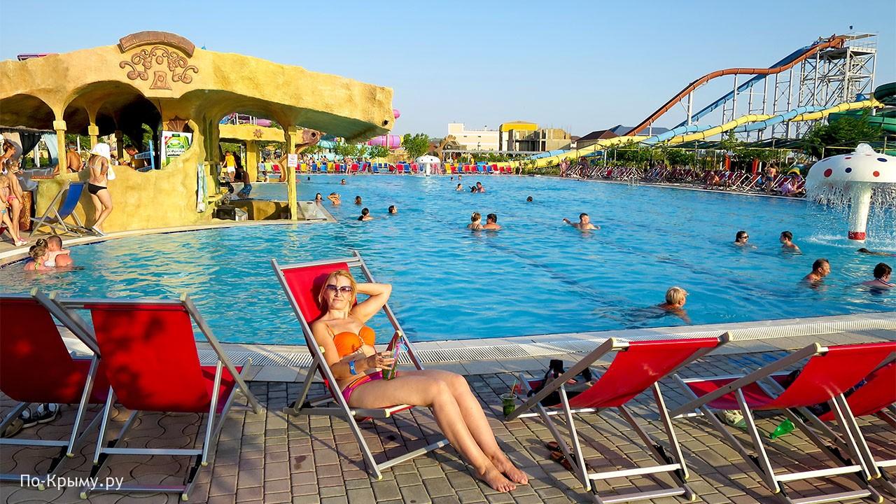 Курорт Прибрежное в Крыму