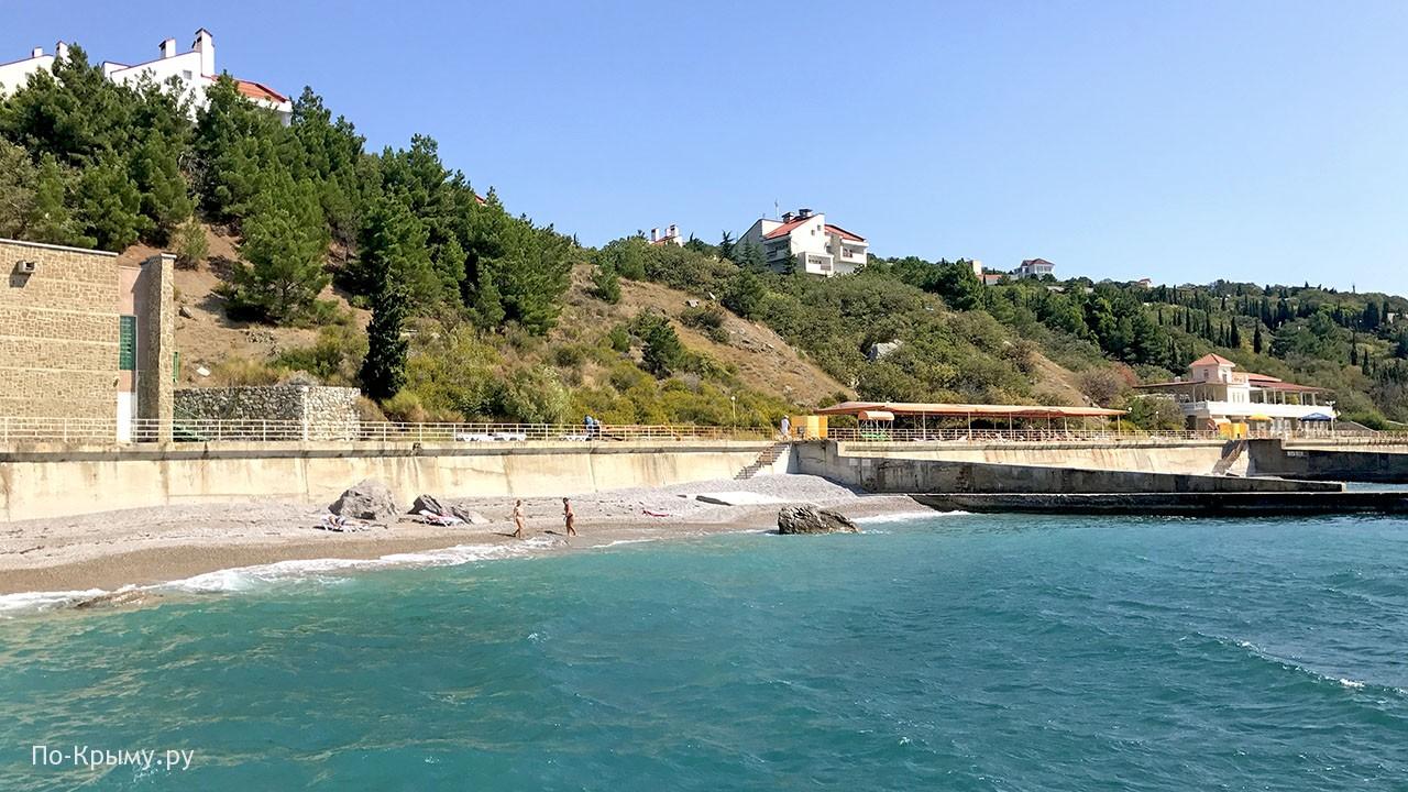 Курорт Понизовка в Крыму
