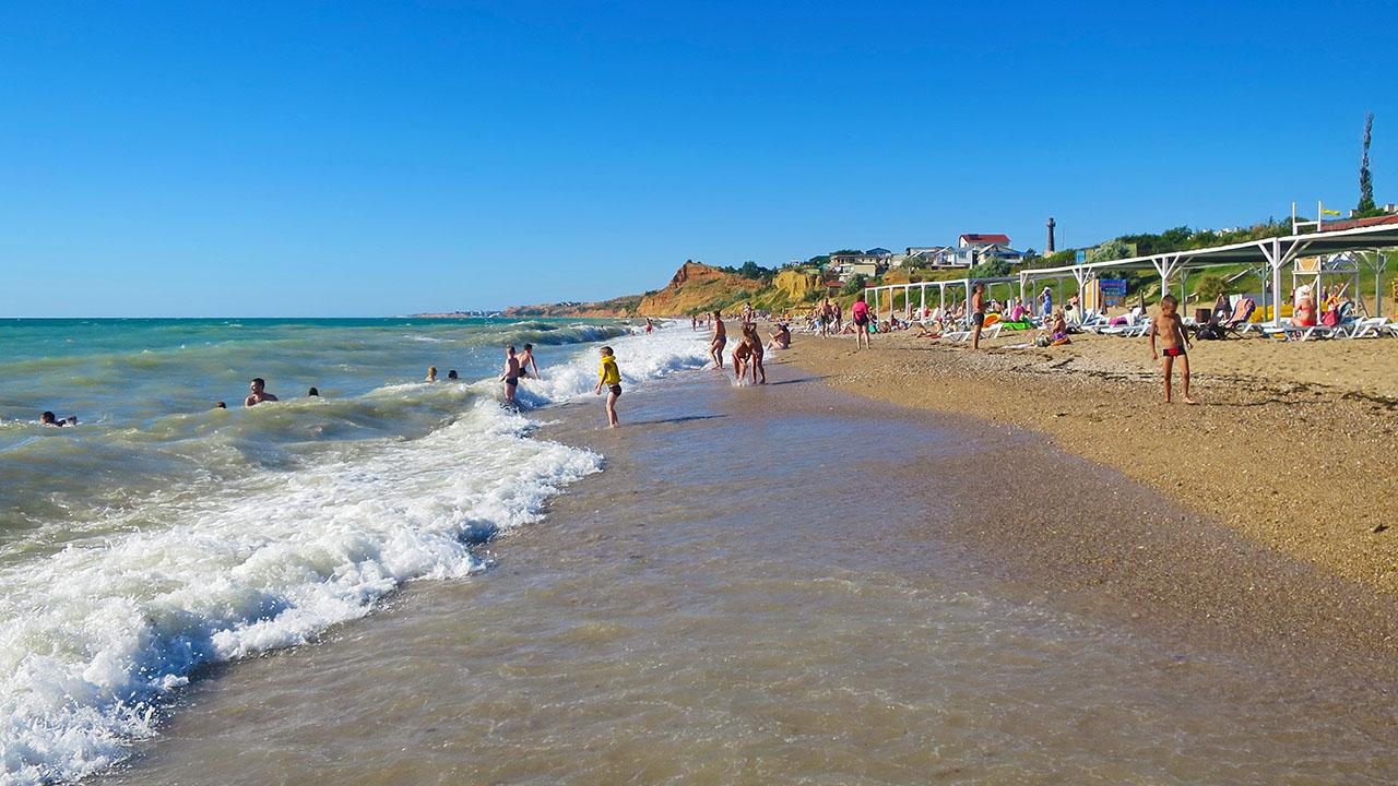 Лучший песчаный пляж Севастополя