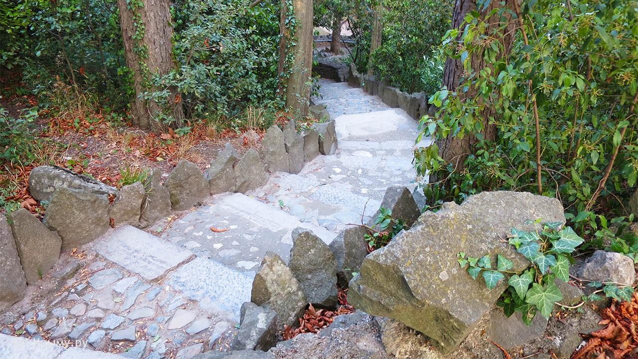 Лестницы Алупки