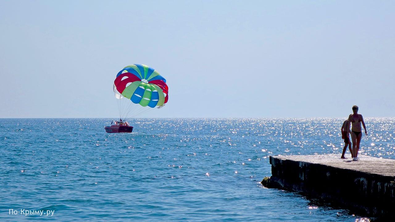 Курорт Семидворье в Крыму
