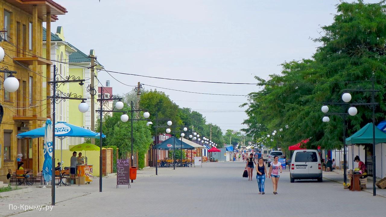 Курорт Межводное в Крыму