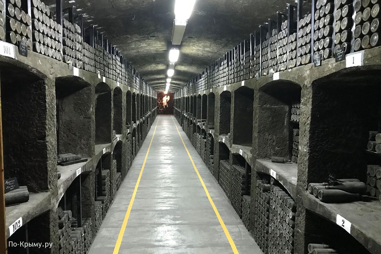 Массандровские подвалы
