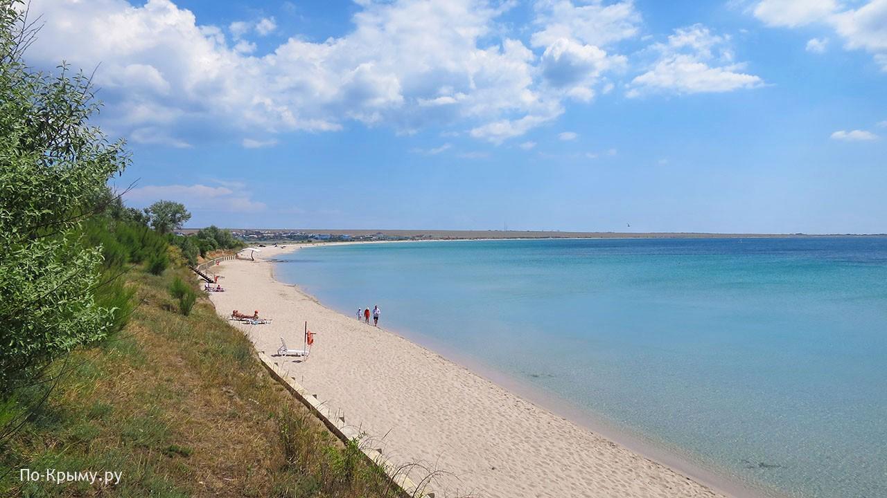 Курорт Оленевка в Крыму
