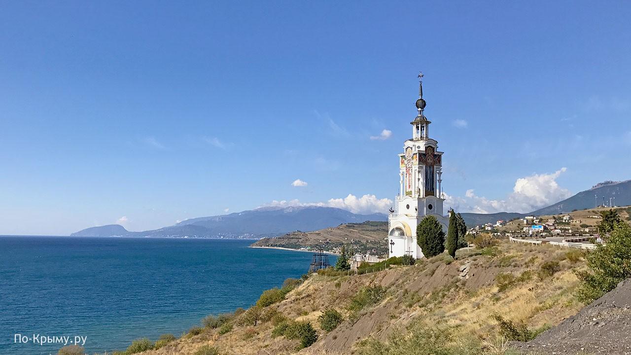 Курорт Малореченское в Крыму