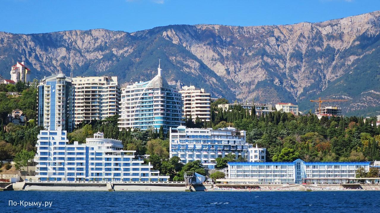 Курорт Ялта в Крыму