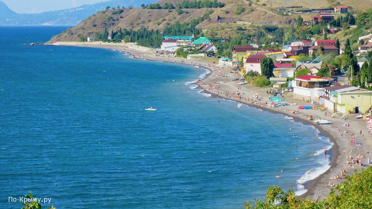 Курорт Солнечногорское в Крыму