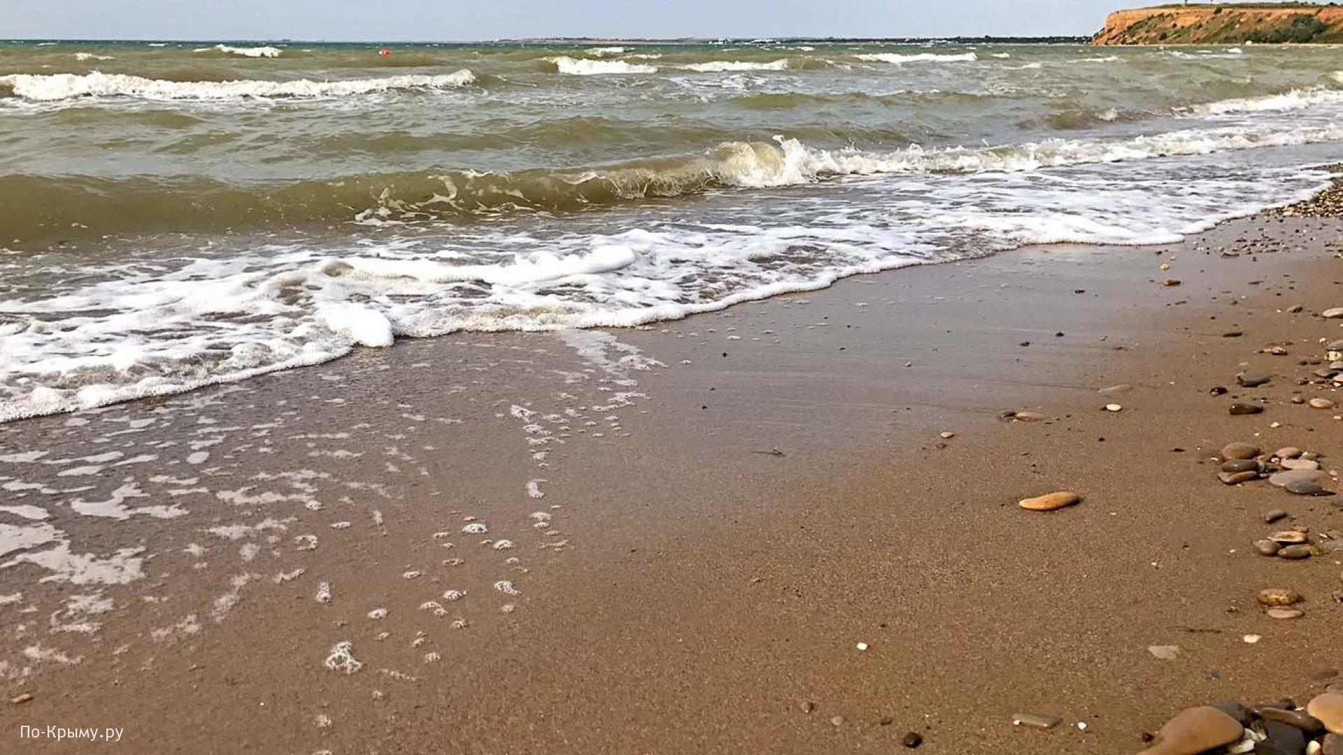 Лучший песчаные пляж на западе Крыма