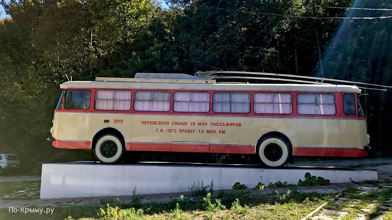 Троллейбус Шкода на Ангарском перевале