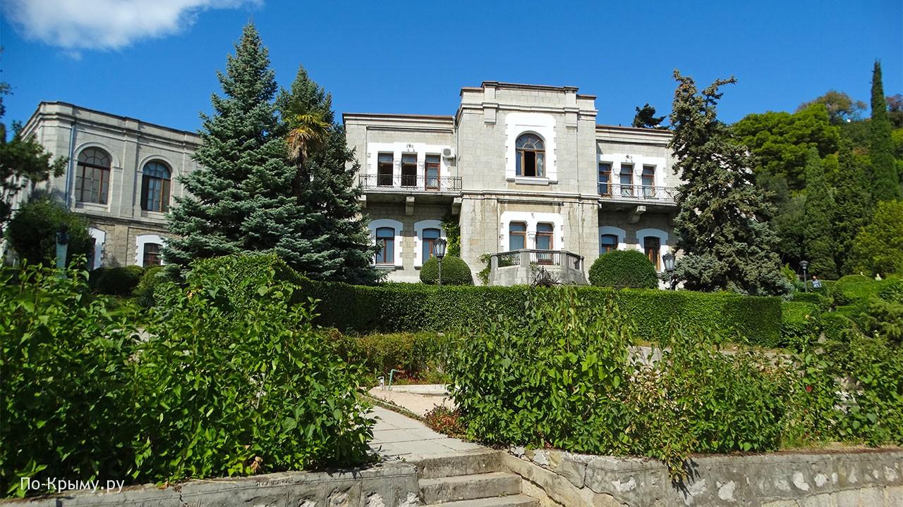 Парк Юсуповского дворца в Крыму
